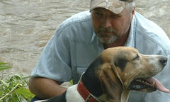 Pete Barber of Yadkin River Coonhounds